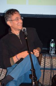 David Mazzuchelli at panel on City of Glass