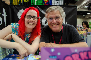 Calista Brill and Scott McCloud