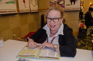 Lynda Barry at D and Q