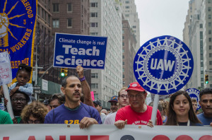Teach Science at Climate March